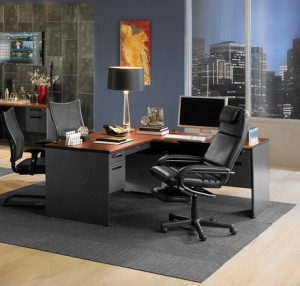 classy looking office