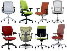 different kinds of office chairs