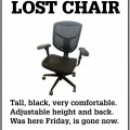 Missing Office Chair